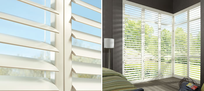 Dallas Hybrid Plantation Shutters
