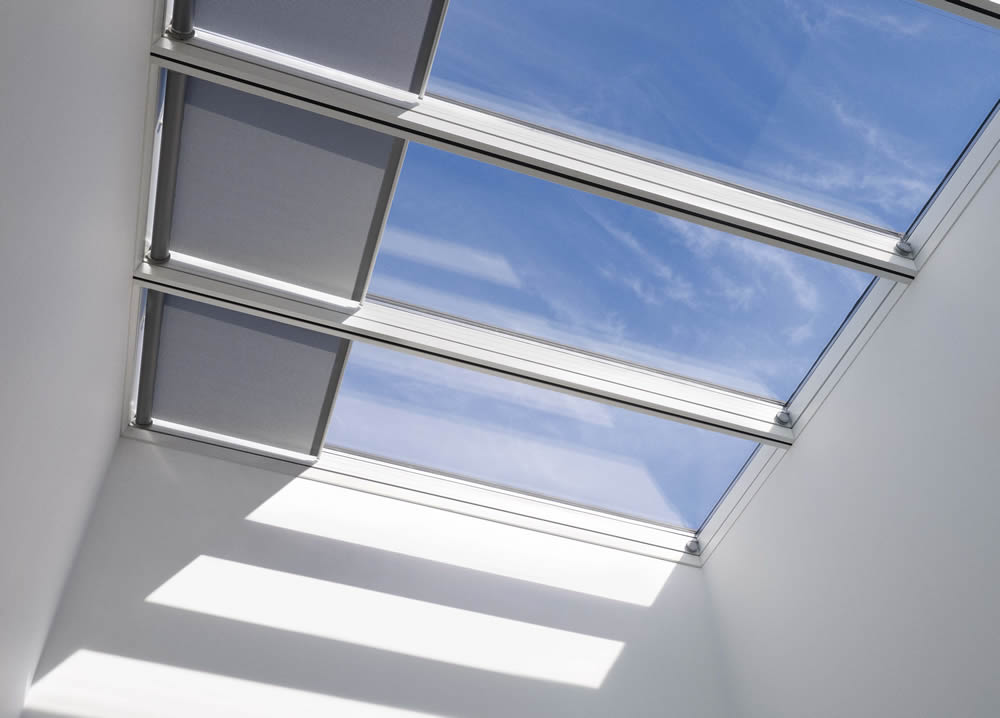 Dallas tx skylight window treatments shades for Velux window shades