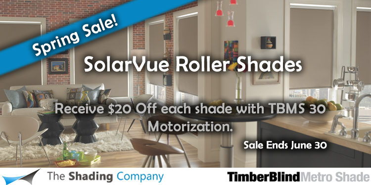 Timber Roller Shades Sale Dallas, TX