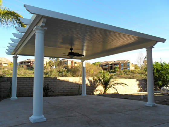 Beautiful Stand Alone Dallas Patio Cover