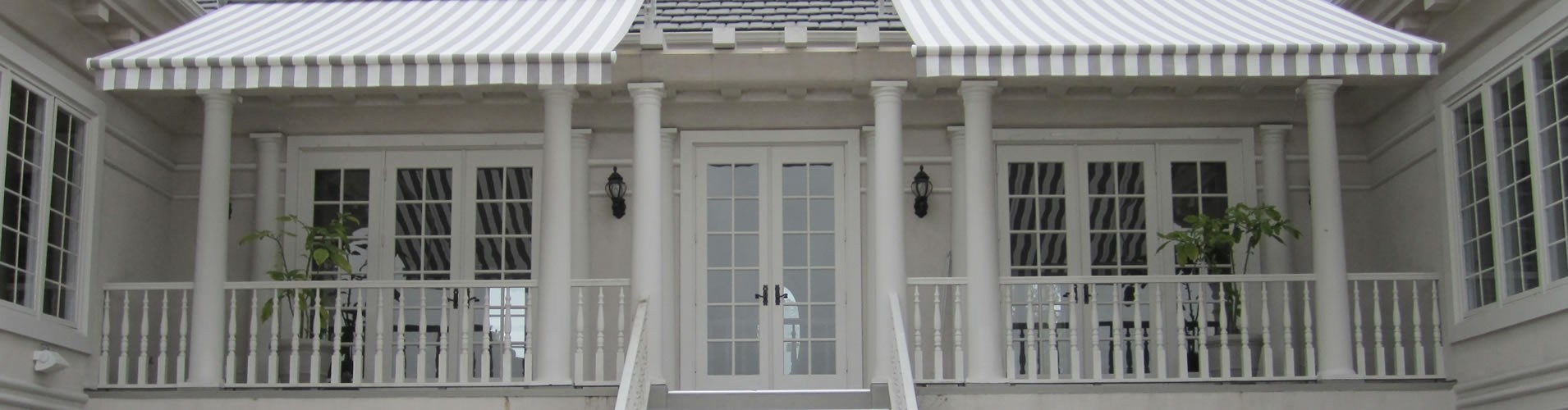 Awnings for Dallas porch