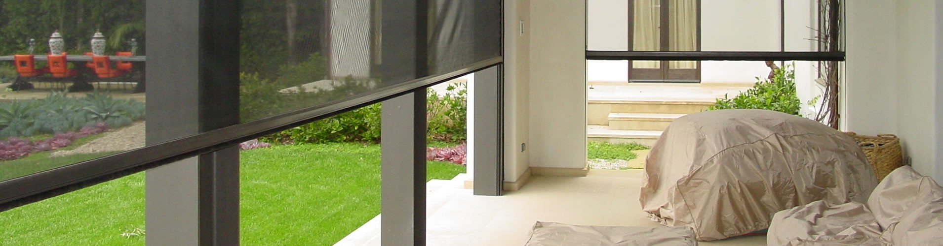 Motorized Retractable Screens   Dallas, TX