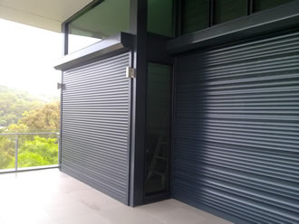 Window security shutters - Dallas, Texas