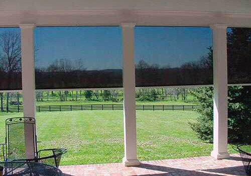 retractable patio screens Dallas, TX
