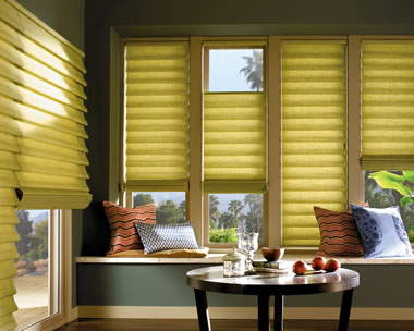 Dallas Roman shades