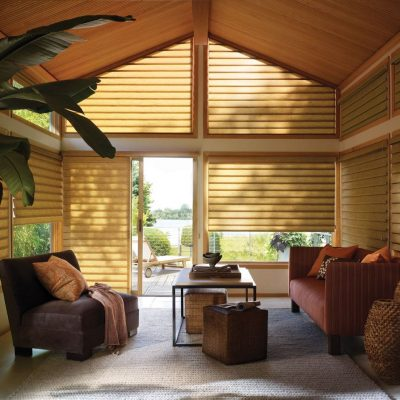 Dallas Tx Roman Shades Woven Woods Bamboo Hunter Douglas