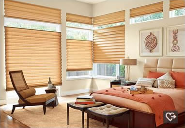 Hunter Douglas Dallas Allustra Roman shades