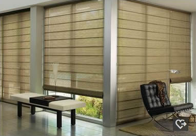 Allustra Woven Woods Dallas shades