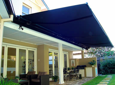 retractable awning Dallas, TX
